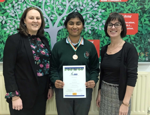 Bronze medal at Junior Science Olympiad