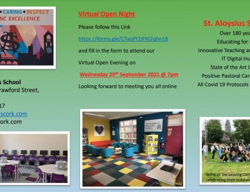 Virtual Open Evening 2021